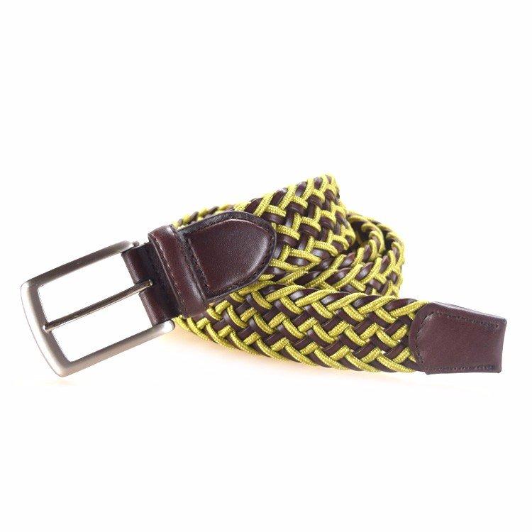 Yusen-Leather Belts-Braided Men Fashionable Belts