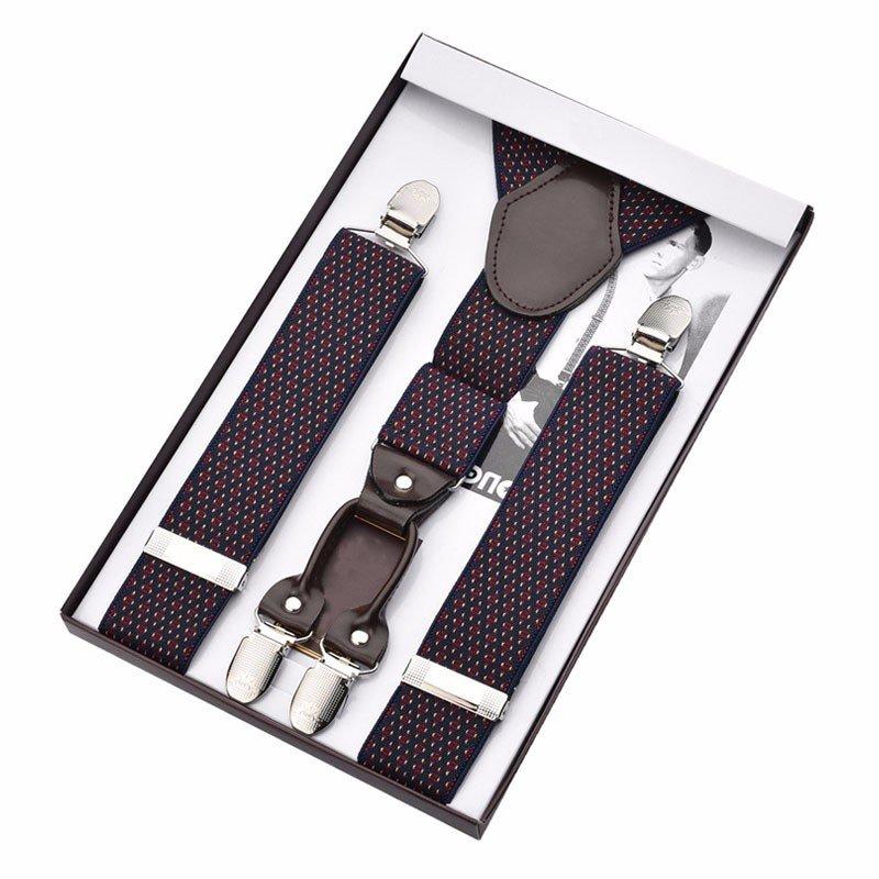 Yusen-Durable Suspenders-Cute Bow Tie & Suspenders