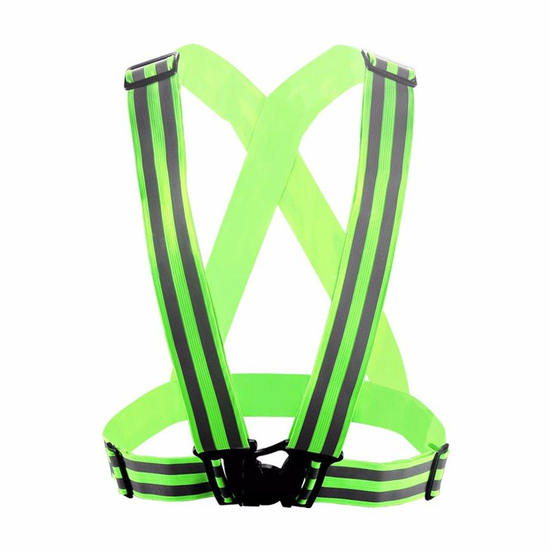 Yusen-Reflective Vest-Polyester with Two Lines Reflective