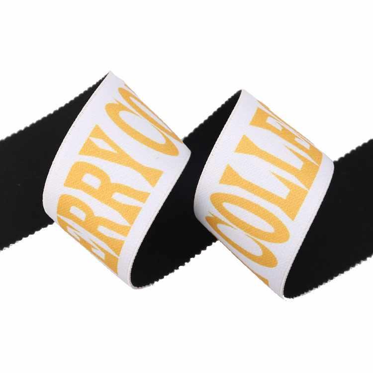 Yusen- Soft Heat Transfer Printed Elastic Band-Polyester+Nylon +Spandex