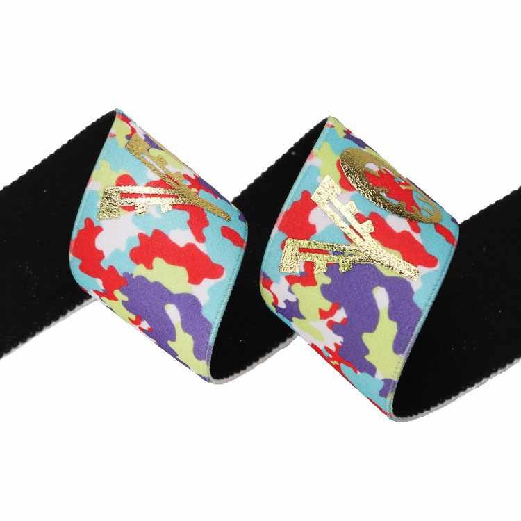 Yusen-One Side Heat Transfer Printed Elastic Band-Nylon+Polyester and Spandex