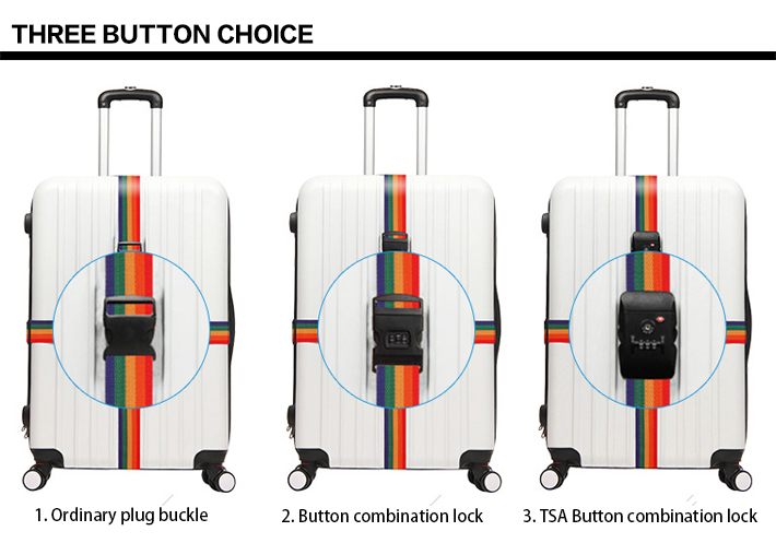 Give a Personalized Look to Your Baggage with Custom Made Adjustable Luggage Strap