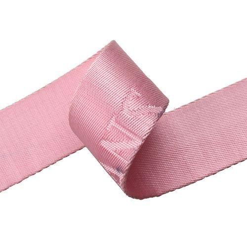 Yusen-Jacquard Webbing-Nylon-Solid Pink Color