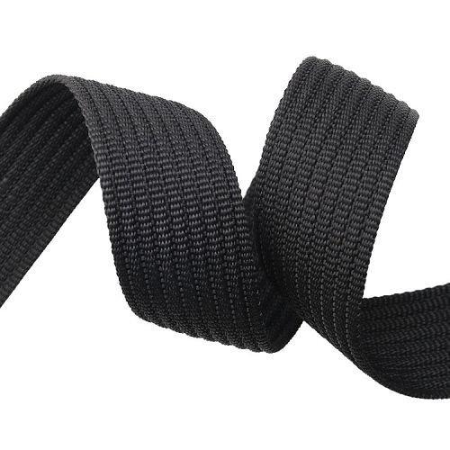 Yusen-PP webbing-Solid Black