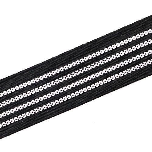 Yusen-Black Polyester Band--Silk Print Band