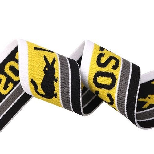 Yusen-Jacquard Muticolor Elastic Band with Custom Logo