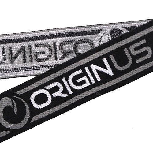 Yusen-2.Jacquard Three color Elastic Band with Custom logo