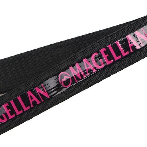 Yusen-Silicone Printed Elastic Band-Polyester with Black
