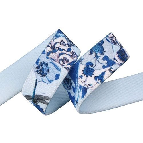 Yusen-Custom Logo Heat Transfer Printed Elastic Band-Polyester