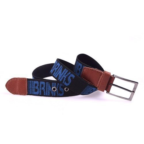 Yusen - Canvas Belts - Imitation Cotton - Jacquard Logo - Pin Buckle