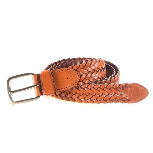 Yusen-Woven Leather Belts-Factory Price
