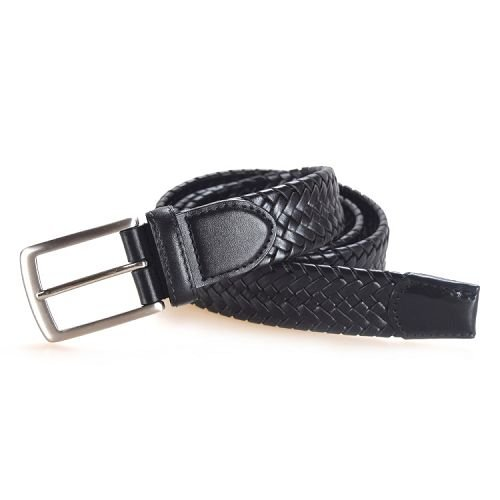 Yusen-Woven Leather Belts-Custom Color and Size