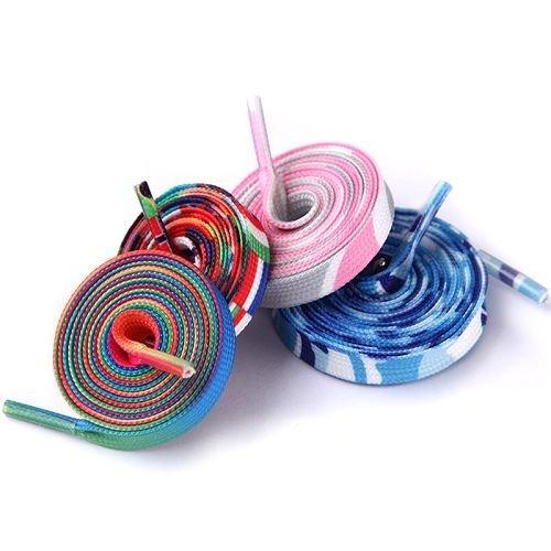 Yusen - Shoelaces - Flat - Heat Transfer Printing