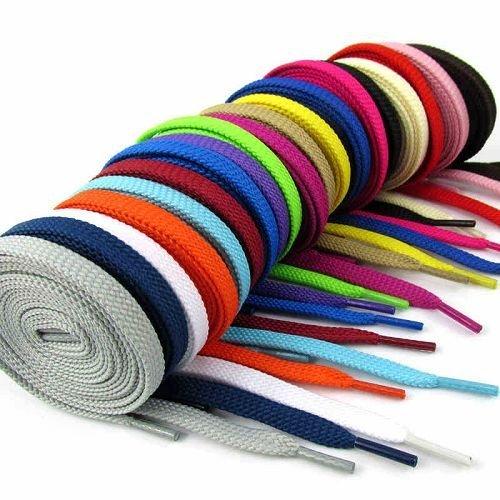 Yusen - Shoelaces - Flat - Solid Color