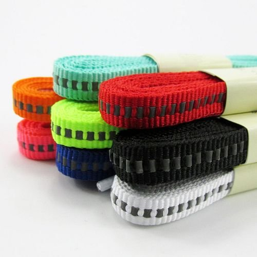 Yusen - Shoelaces - Flat - Reflective