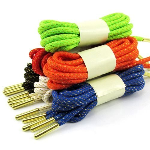 Yusen - Shoelaces - Round - Metal Tip