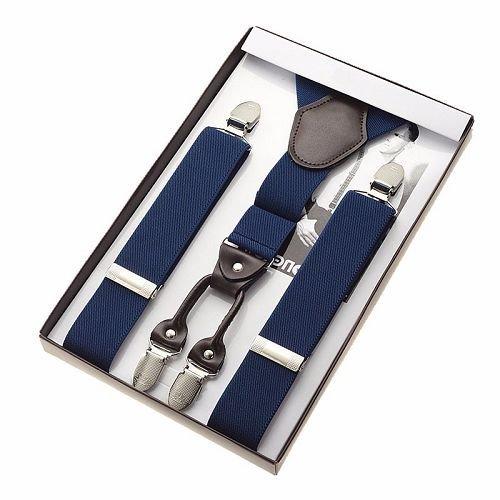 Yusen-Suspenders Men-Easy to Attach Clips with a Y-back Design