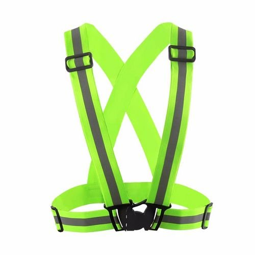 Yusen-Reflective Vest-Polyester with Green Color