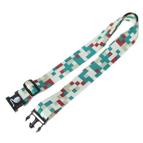 Yusen - Luggage Strap - Polyester - ArmyGreen Heat Transfer Printing-Ordinary buckle silk screen