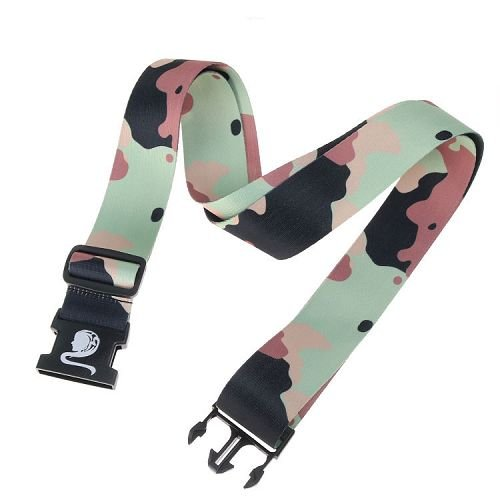 Yusen - Luggage Strap - Polyester - ArmyGreen Heat Transfer Printing-Ordinary buckle silk screen