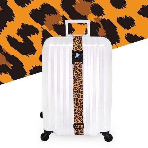 Yusen - Luggage Strap - Polyester - Leopard Heat Transfer Printing-Ordinary buckle silk screen
