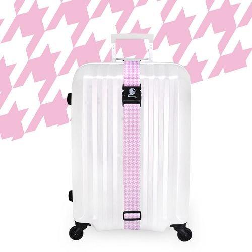 Yusen - Luggage Strap - Polyester -Thousand bird pattern Heat Transfer Printing-Ordinary buckle silk screen