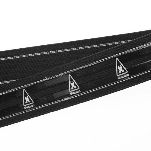 Yusen- Black Striped Silicone Printed Elastic Band