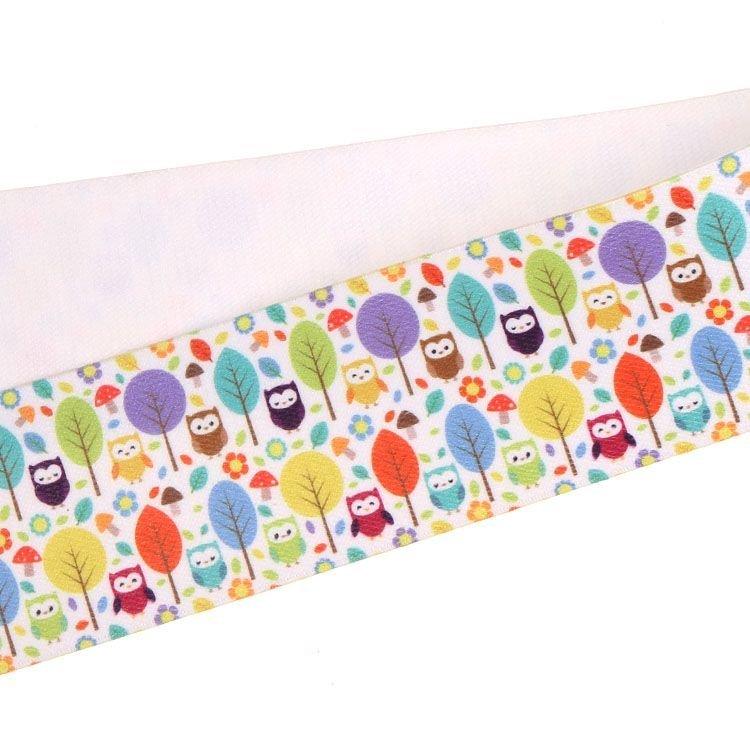 Yusen-One Side Heat Transfer Printed Elastic Band-Polyester/Spandex