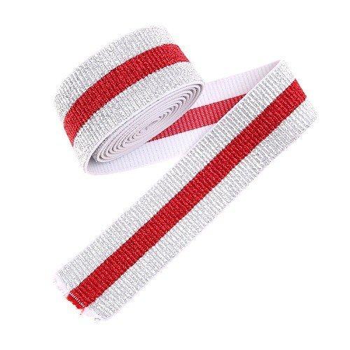 Yusen-Polyester Elastic Band - Stripe