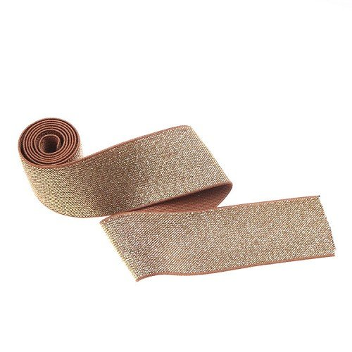 Yusen-Polyester Elastic Band - Gold wire