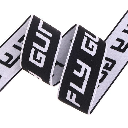 Yusen- Shiny Materail Jacquard Elastic Band with Custom Logo