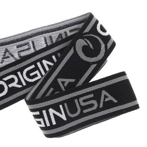 Yusen- Shiny Materail Jacquard Elastic Band with Custom Logo