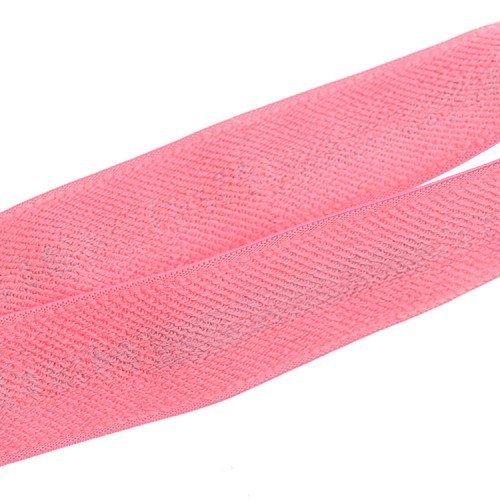 Yusen- Pink Back Jacquard Elastic