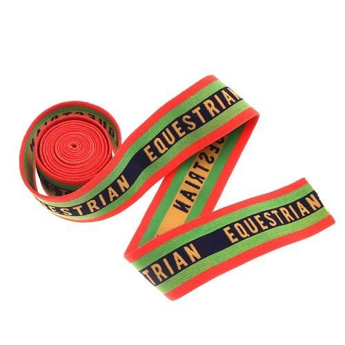 Yusen- Four-Color Striped Plus letter Nylon Jacquard Elastic Band