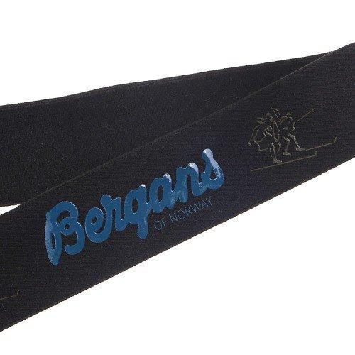 Yusen- Black Elastic Band Blue Silicone Letter Print