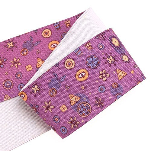 Yusen-Rose Red Cartoon Thermal transfer Elastic Band