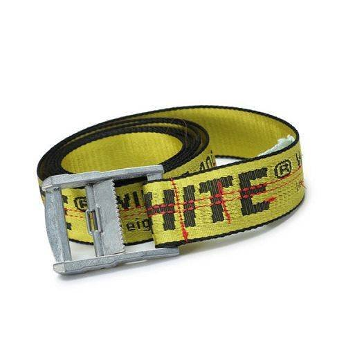 Yusen -OFF-white- Nylon Belt - Jacquard - Slider