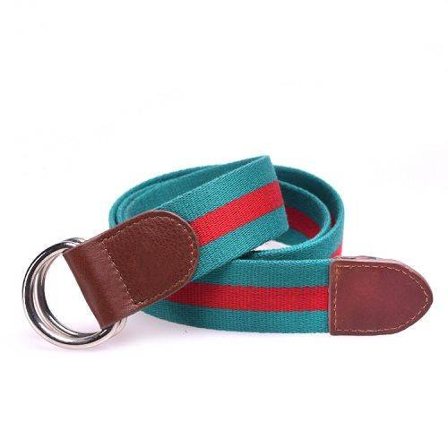 Yusen - Canvas Belts - Cotton - Double D Ring