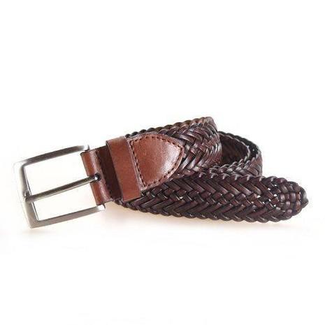 Yusen-Braided Leather Belts-Good Quality