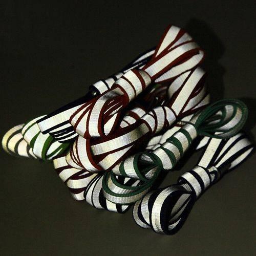 Yusen - Shoelaces - Flat - Reflective