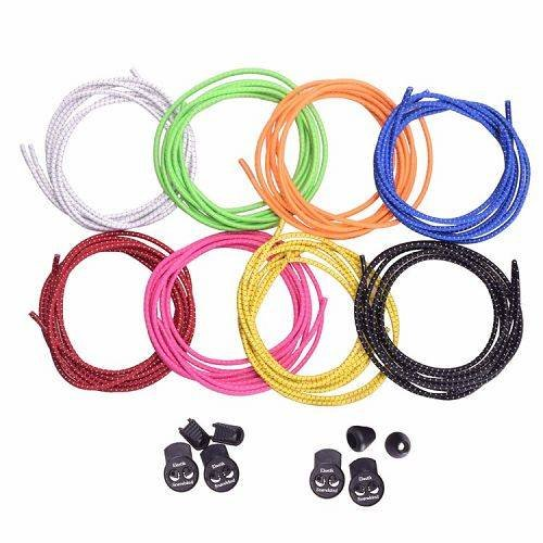 Reflective Lock Laces at Yusen Belts – The Convenient No-Tie Elastic Laces