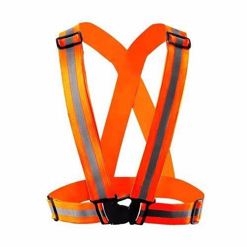Yusen-Reflective Vest-Polyester with Orange Color