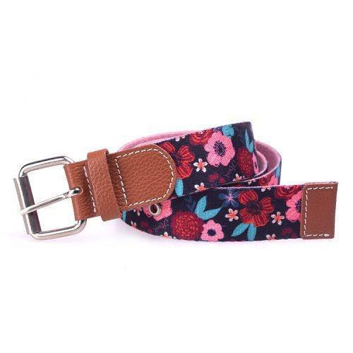Yusen - Canvas Belts - Imitation Cotton - Heat Transfer Printing - Pin Buckle