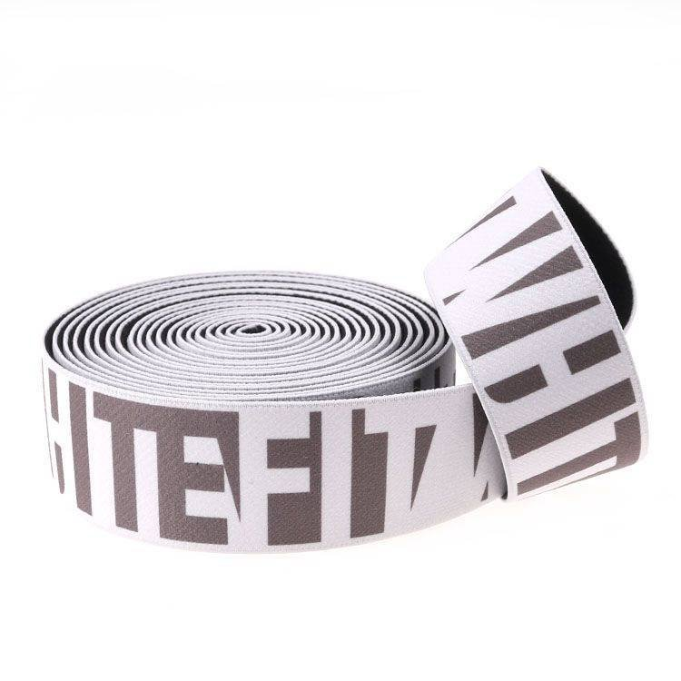 Yusen-One Side Heat Transfer Printed Elastic Band-Polyester With Custom Logo