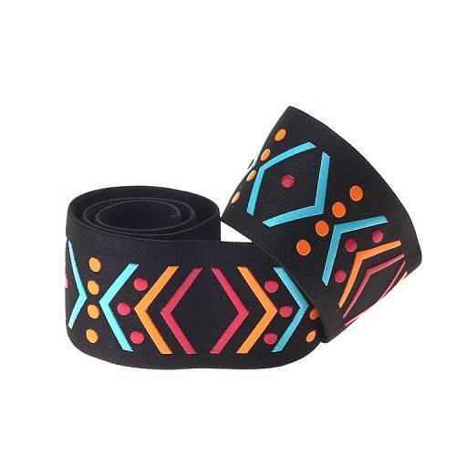 Yusen-Silicone Printed Elastic Band-Colored Logo-Nylon