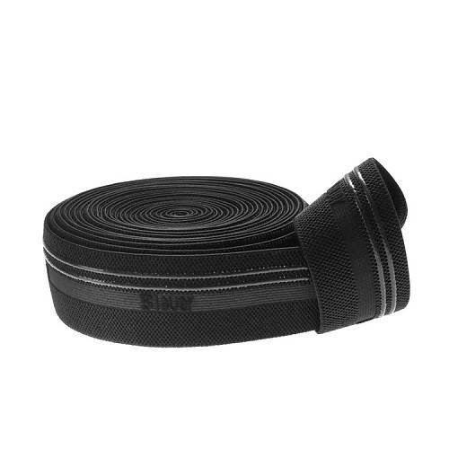 Yusen-Silicone Printed Elastic Band-Nylon with Black Color