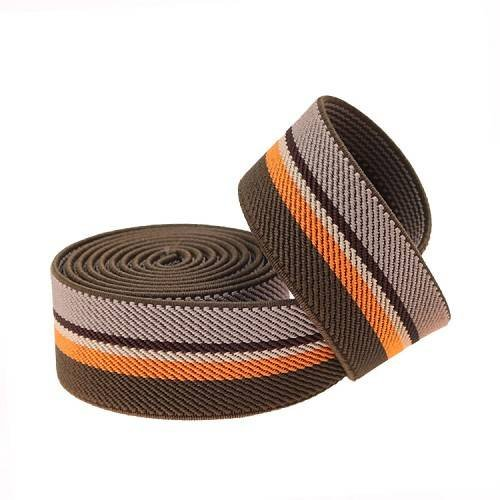 Yusen-Polyester Elastic Band - Intercolored stripes
