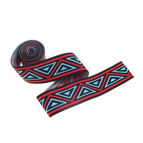 Yusen-Nylon Elastic Band - Triangle Stripe