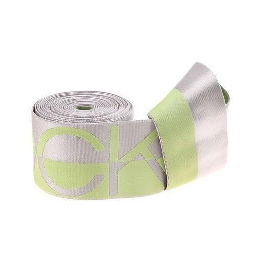 Yusen- Green Silky Nylon Jacquard Elastic Band