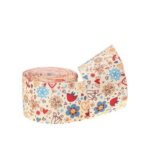 Yusen-Cartoon Pattern Thermal Transfer Elastic Band